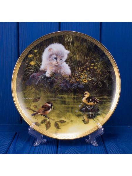 Тарелка FRANKLIN MINT № 8088 Duck Pond Dilemma