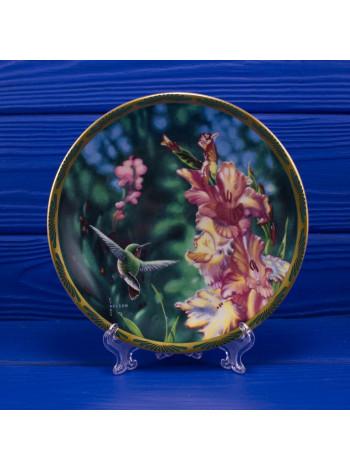 Тарелка PICKARD 8625 B Pickard Calliope Hummingbird and Gladioli