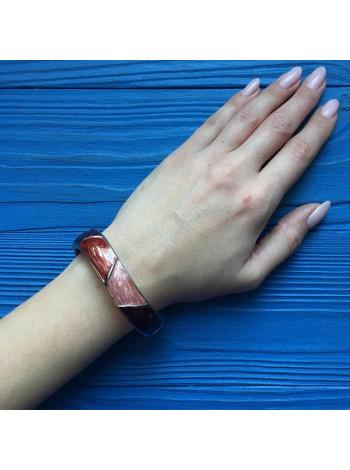 Нарядный браслет с эмалью