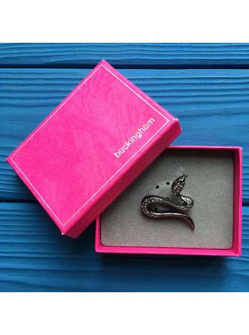 Эффектная брошь в форме змеи от Buckingham в оригинальной подарочной коробке