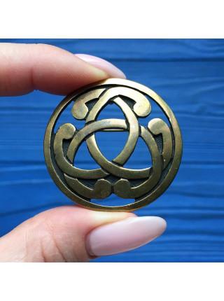 Брошь-кулон в Кельтском стиле с магическими свойствами