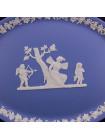 БлюдоWedgwood голубой Jasper №2, фарфор