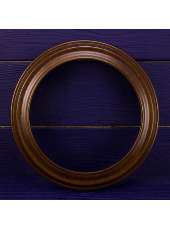 Держатель для декоративной тарелки деревянный №2