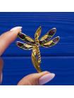 Винтажные броши в виде стрекоз, украшенных мерцающими кристаллами и эмалью