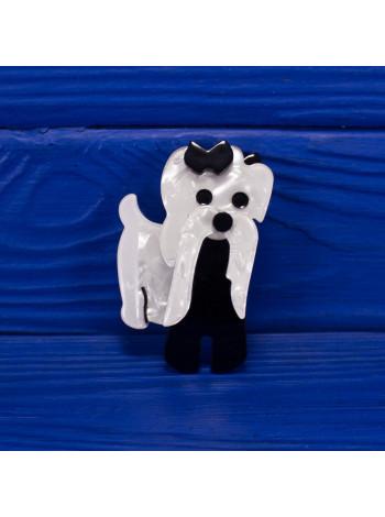 Качественная реплика всемирно известной Moustage Dog от Lea Stein