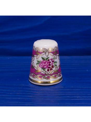 Винтажный коллекционный наперсток из Англии производства Hammersley