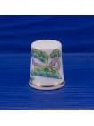 Коллекционный японский наперсток с аистом от MINORU