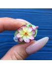 Брошь Spode с объёмными цветами