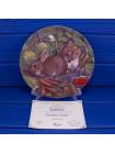Тарелка Coalport с сертификатом Rabbits