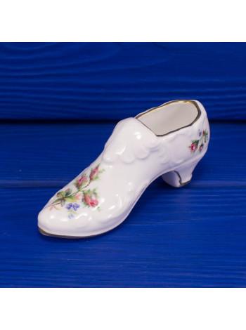 Фарфоровая туфелька ROYAL ALBERT ДИЗАЙН MOSS ROSES