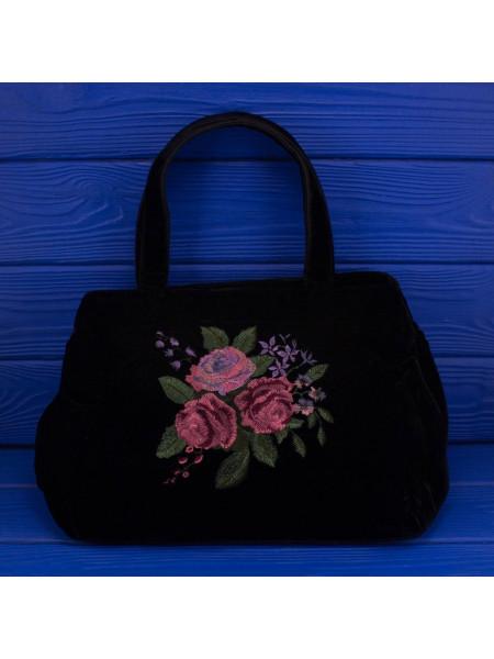 Очаровательная бархатная сумочка с вышивкой в винтажном стиле от Ravel LondonW1