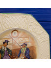 """Тарелка Wedgwood&Co Ltd персонажи романа Чарльза Диккенса """"Записки Пинвикского клуба"""""""