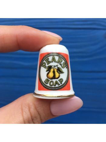 Напёрсток Pears Soap с рекламой английского мыла №2