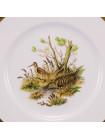 Комплект тарелок CROWN STAFFORDSHIRE серии BIRDS OF THE FIELDS & MORLAND