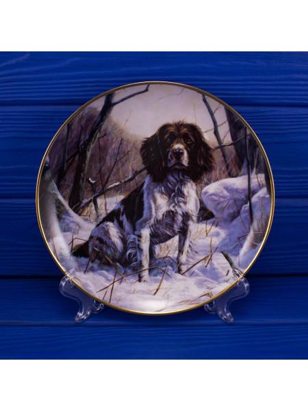 "Тарелка DANBURY MINT ""A Winter Companion"""