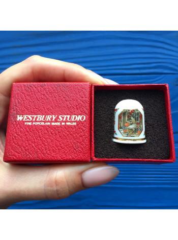Коллекционный наперсток от Westbury Studio, произведенный в Уэльсе