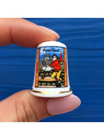Коллекционный наперсток из коллекции рекламных Lifebuoy Soap (бренд мыла)