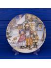 """Тарелка Royal Worcester """"A Christmas Carol"""" с сертификатом"""