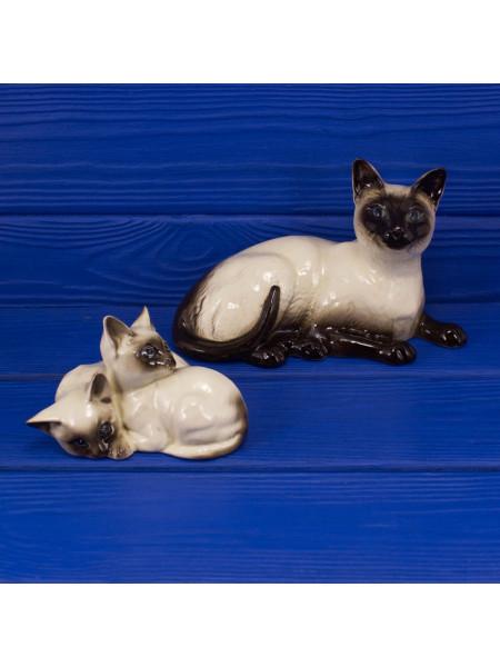 Статуэтки Royal Doulton кошка и котята