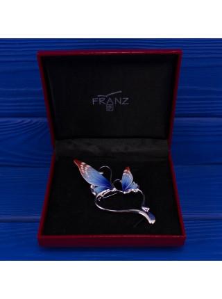 Брошь бабочка от Franz в оригинальной коробочке