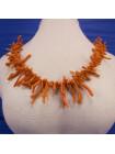 Винтажные бусы из натурального коралла