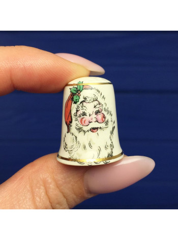 Винтажный наперсток c Санта Клаусом от Mason's