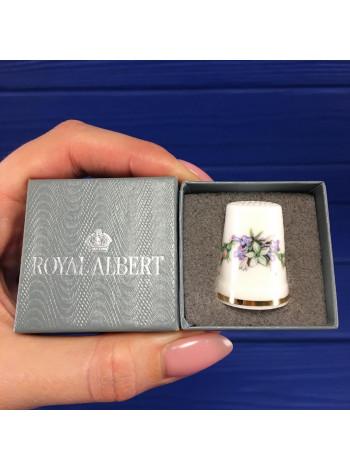 Коллекционный винтажный наперсток от Royal Albert