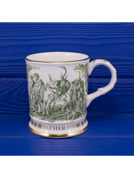 "Кружка Coalport ""The Deerstalkers""⠀"