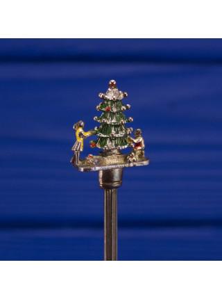 Ложечка с фигуркой рождественской ели