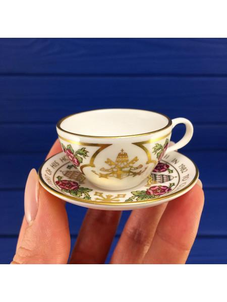 Миниатюрная чайная пара от SPODE