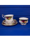 Чайное трио ROYAL ALBERT дизайн OLD COUNTRY ROSES⠀