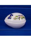 Шкатулка Aynsley дизайн COTTAGE GARDEN в форме яйца