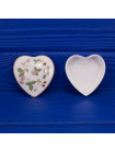 Шкатулка Wedgwood дизайн WILD STRAWBERRY  в форме сердца