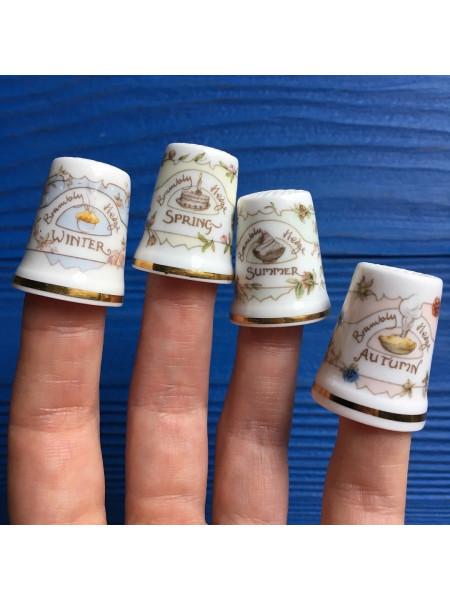 Комплект напёрстков Royal Doulton коллекция Времена Года