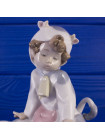 Фигурка малыша в костюме коровы Lladrо Nao