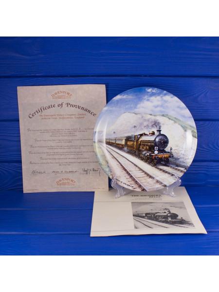 Тарелка Davenport 4472 A Southern Belle с сертификатом