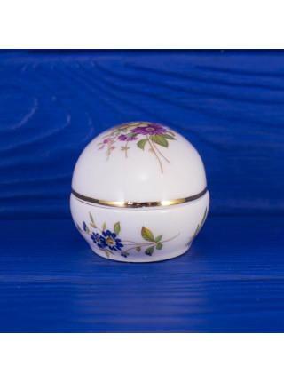 Миниатюрная шкатулка Hammersley в форме яйца