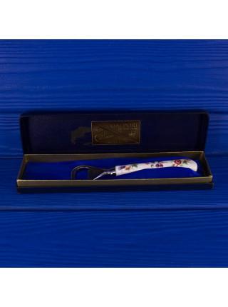 Открывашка для бутылок Coalport c фарфоровой ручкой