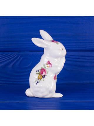 Фарфоровая фигурка зайца