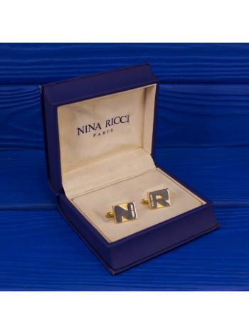 Оригинальные винтажные запонки Nina Ricсi в оригинальной коробочке