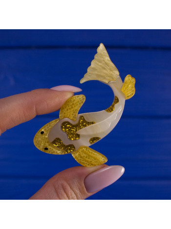 Очаровательная рыбка в стиле Lea Stein