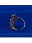 Эффектное серебряное кольцо с перламутром