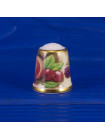 Винтажный коллекционный наперсток Still life от Sutherland, Англия