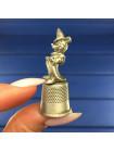 Коллекционный металлический наперсток Disney с Микки Маусом