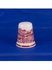 Винтажный коллекционный наперсток Adams