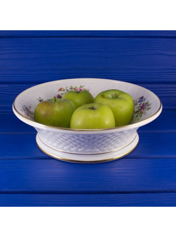 Шикарная фарфоровая чаша Minton для фруктов