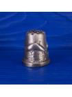 Коллекционный металлический наперсток с объемным дельфином