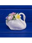 Букет фарфоровых цветов с Лебедем Royal Doulton