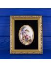 Винтажная картина из костяного фарфора COUNTESS