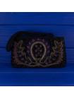 Сумочка вечерняя в винтажном стиле, декорированная бисером